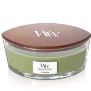 Woodwick Evergreen HearthWick Candle
